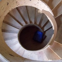 Sandpoint Engineer Spiral Staircase 1